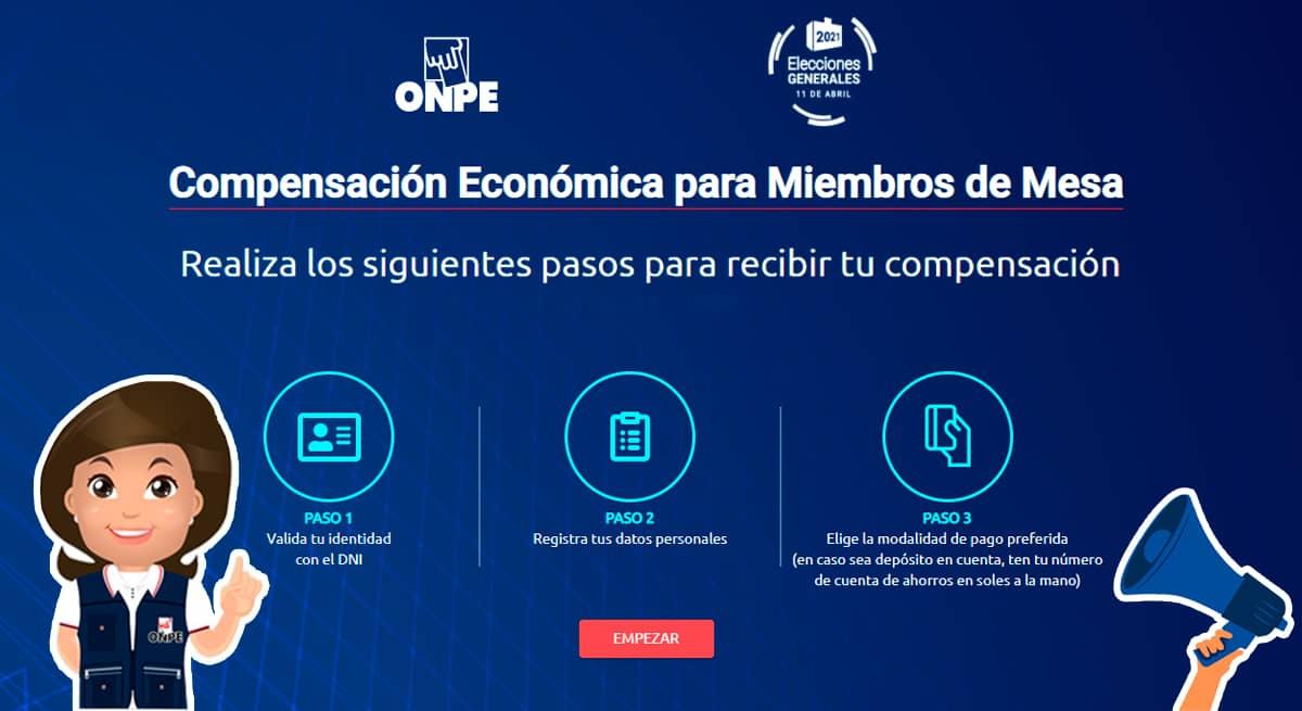 Plataforma de Compensación Miembros de mesa