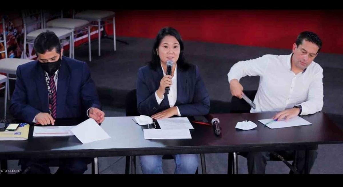 Keiko Fujimori pide nulidad de 802 mesas con 200 mil votos en juego [VIDEO]