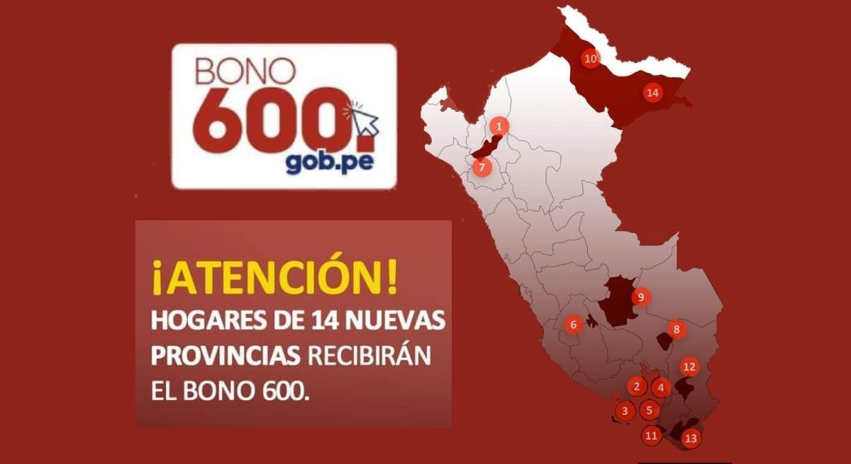 BONO 600: Continua el pago a los Beneficiarios de la 2° Etapa. Conoce la modalidad y Consulta