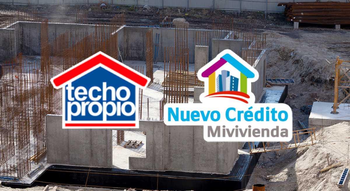Conoce los programas Techo Propio y Crédito MiVivienda. ¿Cuál puedes solicitar?
