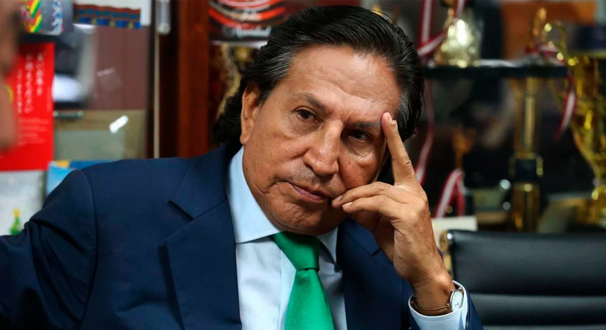 Alejandro Toledo será extraditado para ser juzgado en el Perú