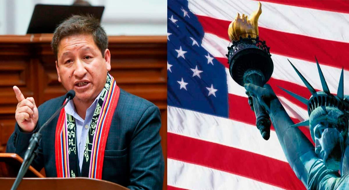 Guido Bellido prometió romper relaciones con EE.UU.