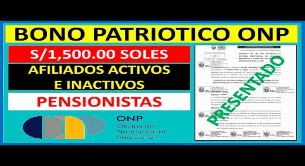 Bono Patriótico: Requisitos y objetivos del subsidio