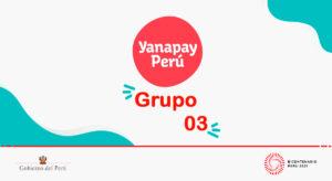 Bono Yanapay: Grupo 03 empieza a cobrar la otra semana