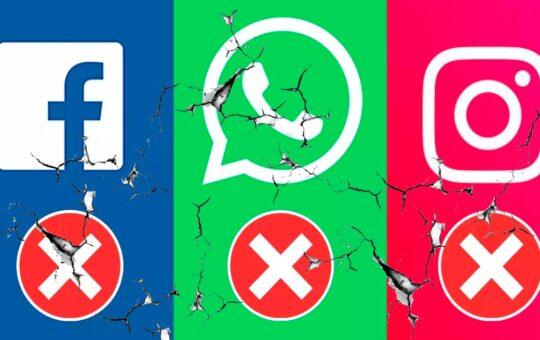 Cayeron todas las redes sociales a nivel mundial