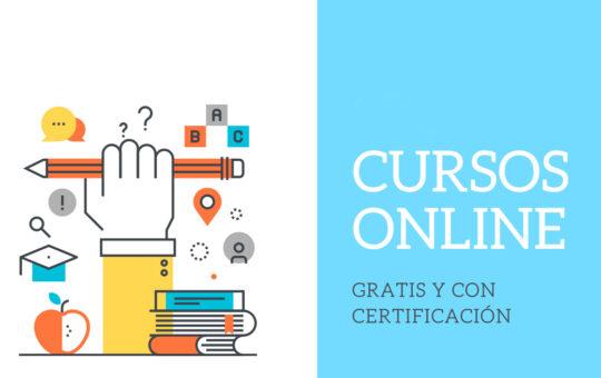 Cursos on line gratuitos con certificación